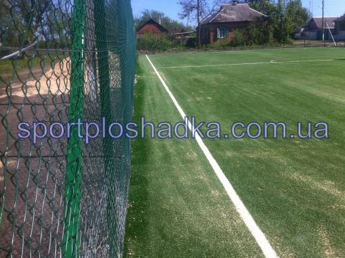 установка ограждения на футбольной мини площадке