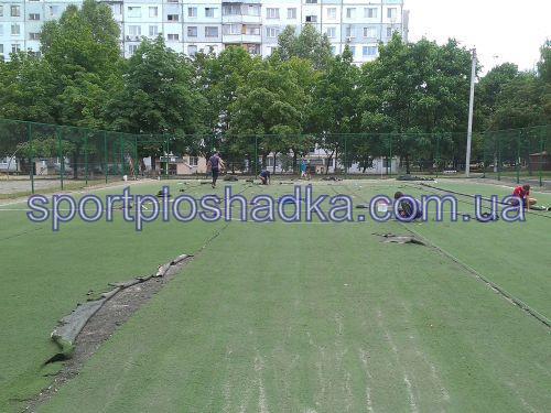 ремонт спортивной площадки